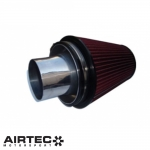 AIRTEC Motorsport Ford Escort/Sapphire/Sierra Cosworth 102mm GT Turbo Group A Cone Filter With Alloy Trumpet - ATIKFO3