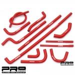 Pro Hoses Ford Capri MK3 2.8i Silicone Ancillary Hose Kit - PH/ANCFO18